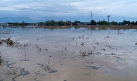 Наводнения в Северна Гърция, иде студ