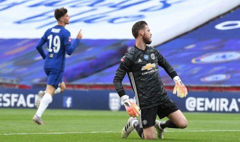 Де Хеа губи титулярното си място в Манчестър Юнайтед