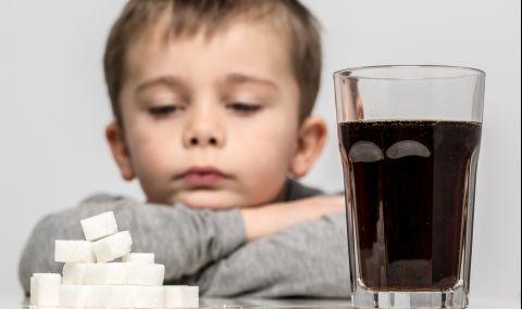 Какво причиняват сладките напитки на децата