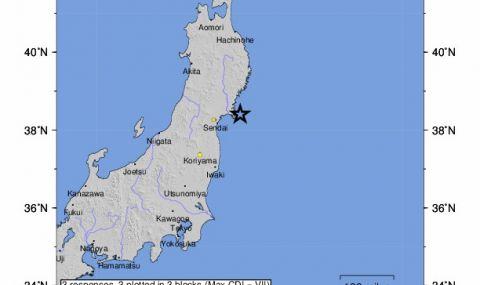 Силно земетресение в Япония може да предизвика цунами
