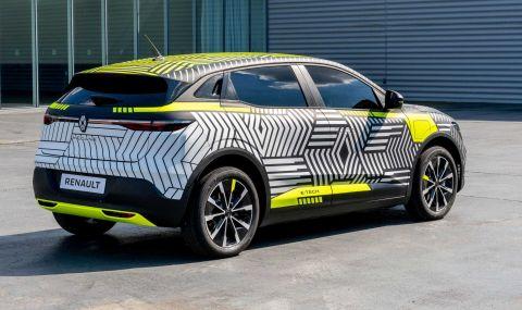 Renaultпредстави електрическиMeganeс 217 конски сили - 2