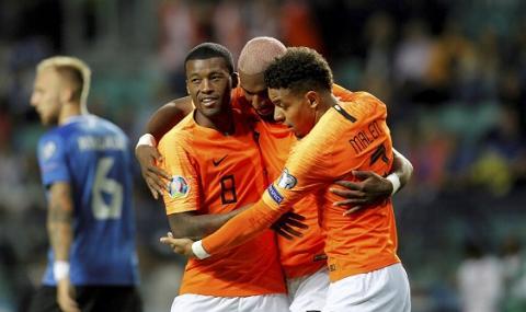 Холандия с нова победа, но продължава да догонва Германия и Северна Ирландия