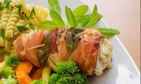 Рецепта за вечеря: Пиле салтимбока
