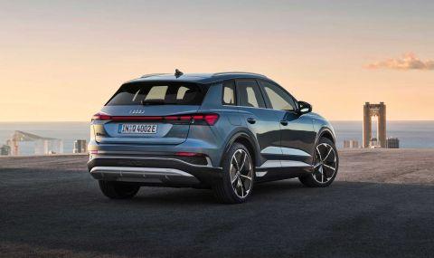 Audi представи електрическото Q4 с различен дизайн и нова платформа - 14
