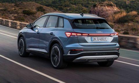Audi представи електрическото Q4 с различен дизайн и нова платформа - 3