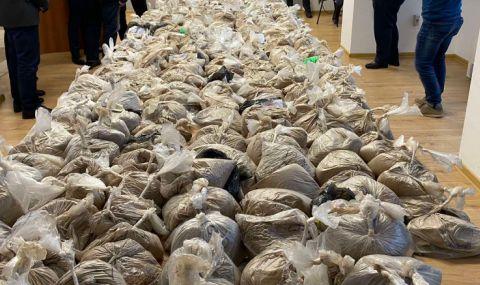 ГДБОП откри огромно количество хероин в Сливен