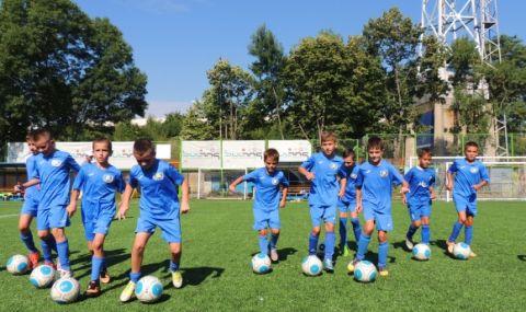 Спират тренировките в част от школата на Левски - 1