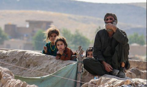 Живот под земята само с хляб и вода: трагедията на сто афганистански семейства - 1