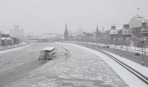 Смразяващи студове в Русия