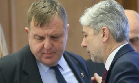 Каракачанов: Ген. Стойков е професионалист, Нено Димов е невинен