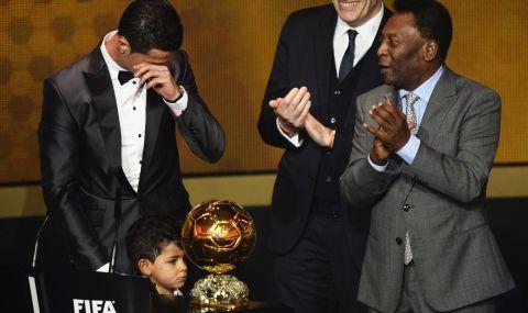 Пеле пожела успех на Роналдо в Манчестър Юнайтед - 1