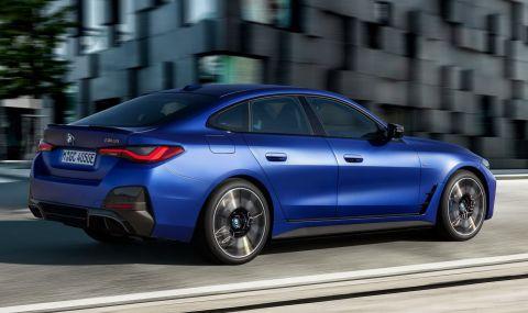 BMW представи първата М Performance електрическа кола - 8