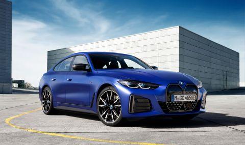 BMW представи първата М Performance електрическа кола - 1