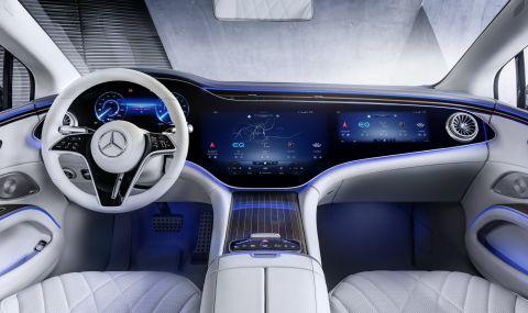 Mercedes представи електрическата S-Klasse - 14