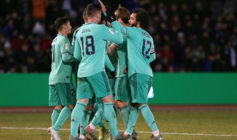 Реал Мадрид продължава напред за Купата