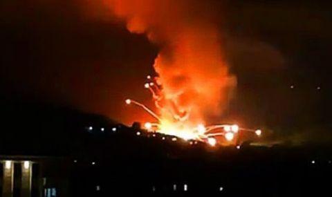 Силни експлозии разтърсиха фабрика за боеприпаси в Сърбия