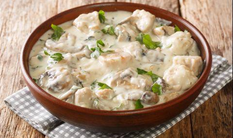 Рецепта за вечеря: Вкусна каша с пилешко - 1