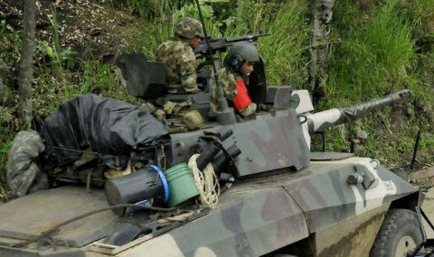 Десетки бунтовници загинаха при боеве