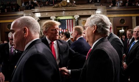 """Казусът """"импийчмънт"""" в Сената: Час след встъпването в длъжност на Байдън"""