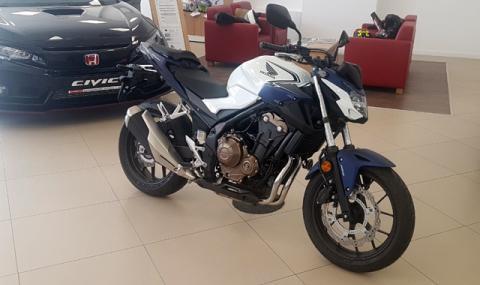Honda показа в България CB500F