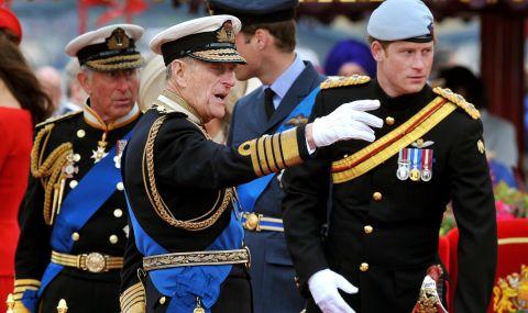 Принц Хари се върна за погребението на принц Филип, но без Меган