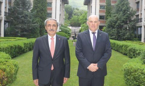 Иван Гешев се срещна с главния прокурор на Турция - 1