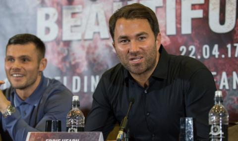 Хърн: Джошуа срещу Руис ще е до края на годината