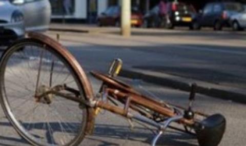 Велосипедист загина, блъснат от лек автомобил
