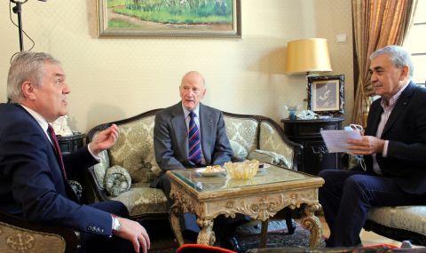 Румен Петков се срещна със Симеон II по повод 35 години от освобождаването на Сергей Антонов