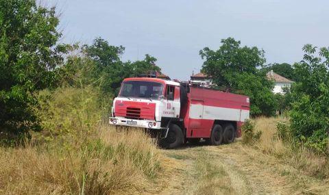 Задържаха мъж, причинил пожар край Петрич - 1