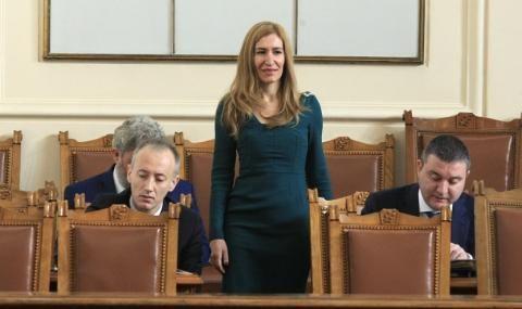 Ангелкова с критика към кабинета на Радев - 1