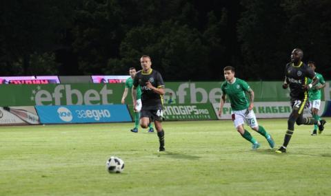 Лудогорец вкара 4 гола на Берое