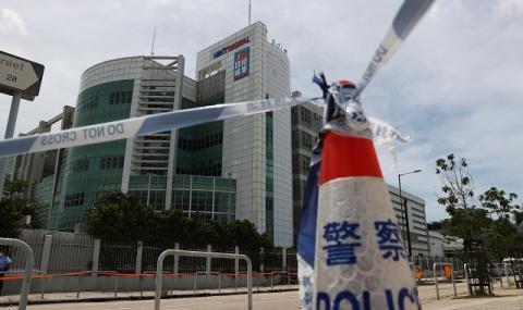 Арестуваха хонконгски медиен магнат за сговор с чужди сили