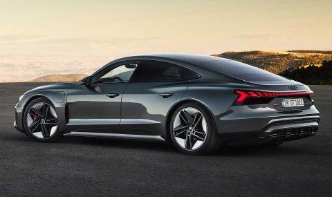 Audi представи електрическия E-Tron GT заедно с най-мощната RS версия - 10