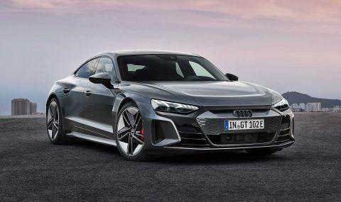 Audi представи електрическия E-Tron GT заедно с най-мощната RS версия - 11