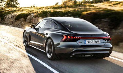 Audi представи електрическия E-Tron GT заедно с най-мощната RS версия - 12