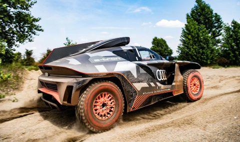 """Ето с какъв автомобил Audi ще участва в рали """"Дакар"""" през 2022 година - 4"""