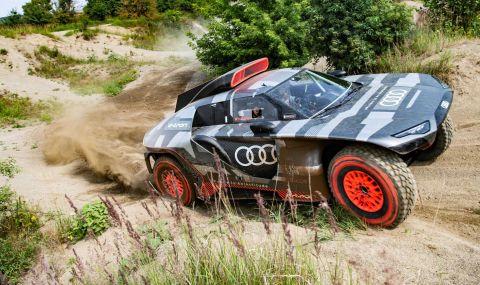 """Ето с какъв автомобил Audi ще участва в рали """"Дакар"""" през 2022 година - 5"""