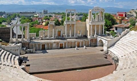 Античният театър е най-голямата забележителност в Пловдив