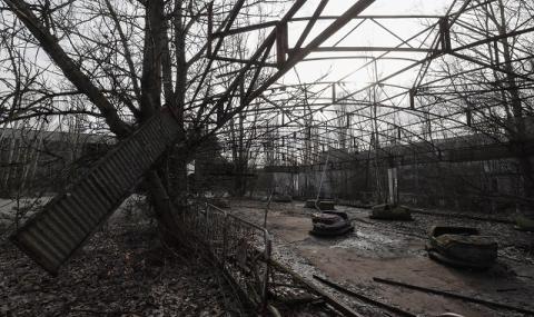 27-годишен е задържан за пожара край Чернобил
