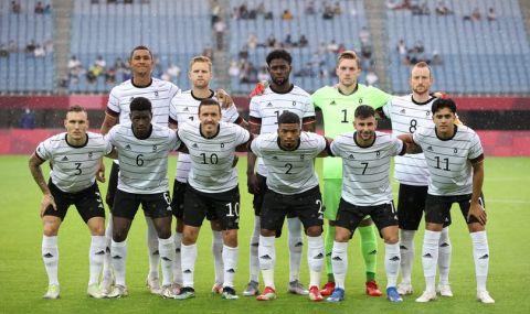Германски футболен провал и на Олимпиадата - 1