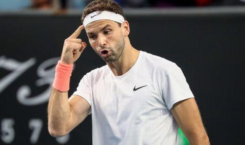 Григор Димитров: Мога да извлека доста позитиви от тази победа