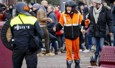 Невиждани протести в Нидерландия
