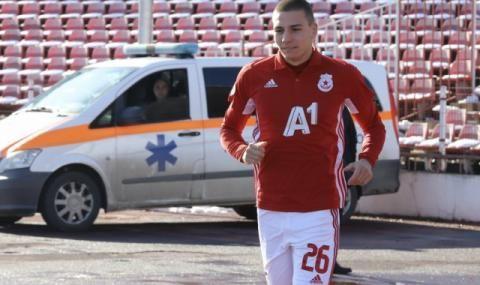 Валентин Антов на линия за мача с ЦСКА 1948 - 1