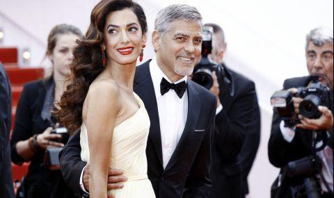 Джордж Клуни пише романтични писма на Амал по време на памдемията