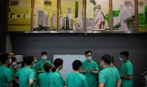 Китай попълва спешно лекарските екипи