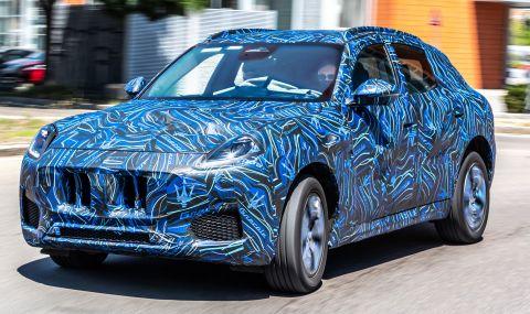Новият SUV на Maserati ще дебютира на 16 ноември - 1
