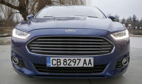 Тест на новия Ford Mondeo - 4
