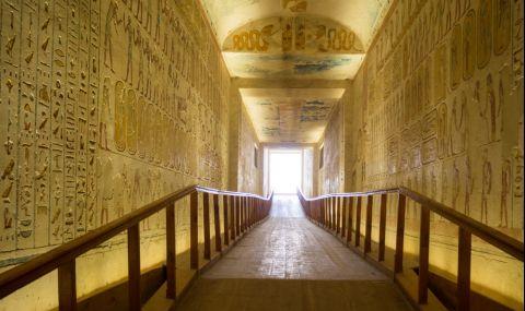 Египтянин и тъща му загинаха в тунел под пирамидите