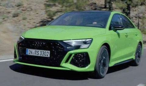 Предпремиерно: Ето го новото Audi RS3  - 1